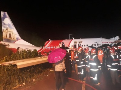 14 killed as AI Express plane overshoots runway (5th Ld)