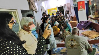 19 disabled senior citizens found captive in Nangloi old age home (Ld)