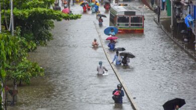 Photo of Waterlogging in Mumbai