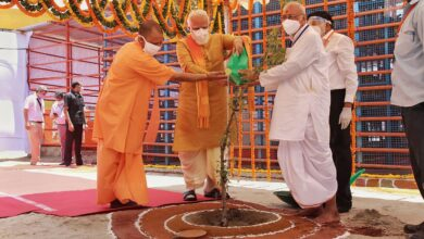 Photo of Ram Mandir foundation stone laying ceremony