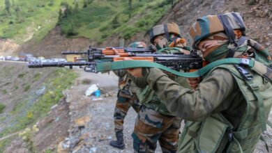 Photo of Women soldiers posted in LOC for the first time in J&K