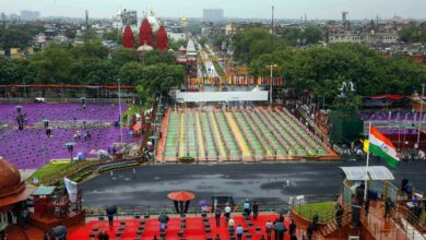 Photo of Independence Day rehearsals in Delhi