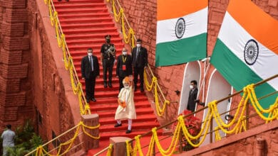 Photo of PM Modi on Independence Day at Red Fort
