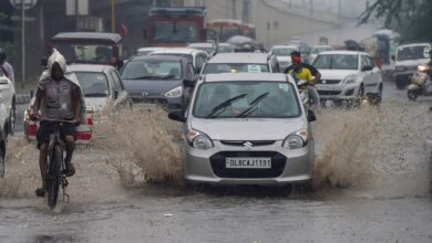 Photo of Monsoon rains in Delhi