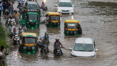 Photo of Rains lash Delhi-NCR; Gurugram worst affected