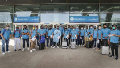 Photo of IPL 2020: Delhi Capitals players pose as they leave for UAE