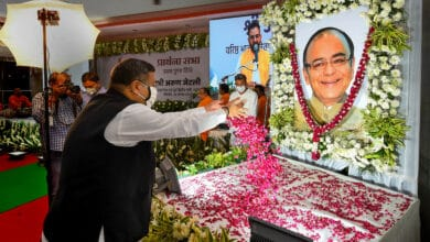 Photo of BJP pays tribute to Arun Jaitley on his first death anniversary