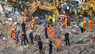 Photo of Mahad tragedy: Excavator operator praised for 'non-stop' work