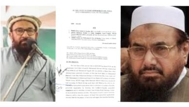 Photo of Close aides of Hafiz Saeed convicted in terror financing case