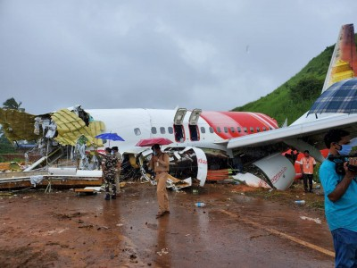 AI Express plane landed deep in touchdown zone, inclement weather blamed (Roundup)