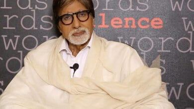 Photo of Amitabh Bachchan shares picture of Indian flag made of vegetables