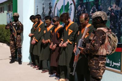 Afghan govt releases 317 Taliban prisoners, total reaches 4,917