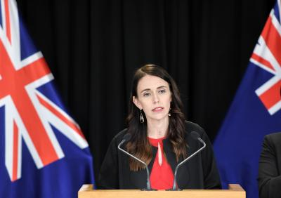 Ahead of polls, NZ Premier visits Temple in Auckland