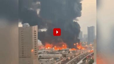 Photo of UAE: Massive fire breaks out in Ajman market