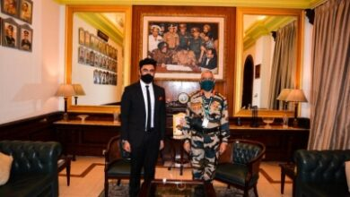 Photo of Amit Sadh's 'life-changing' meeting with Indian Army Chief
