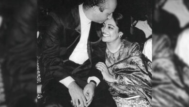 Photo of Anupam Kher's sweet 35th wedding anniversary note for Kirron Kher