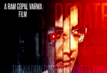 """Photo of Ram Gopal Varma shares first look of """"Arnab The News Prostitute"""""""