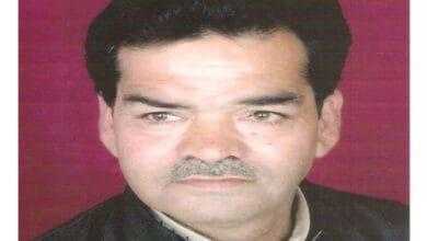 Photo of Urdu poet Ashok Sahil dies at 64