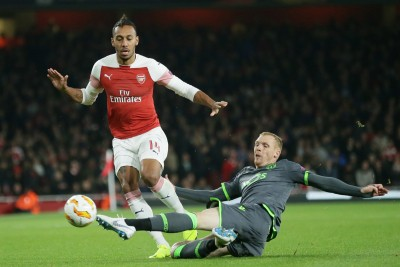 Aubameyang coy over Arsenal future after FA Cup triumph
