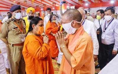 'Bhumi pujan' one of biggest moment for country: Uma Bharti
