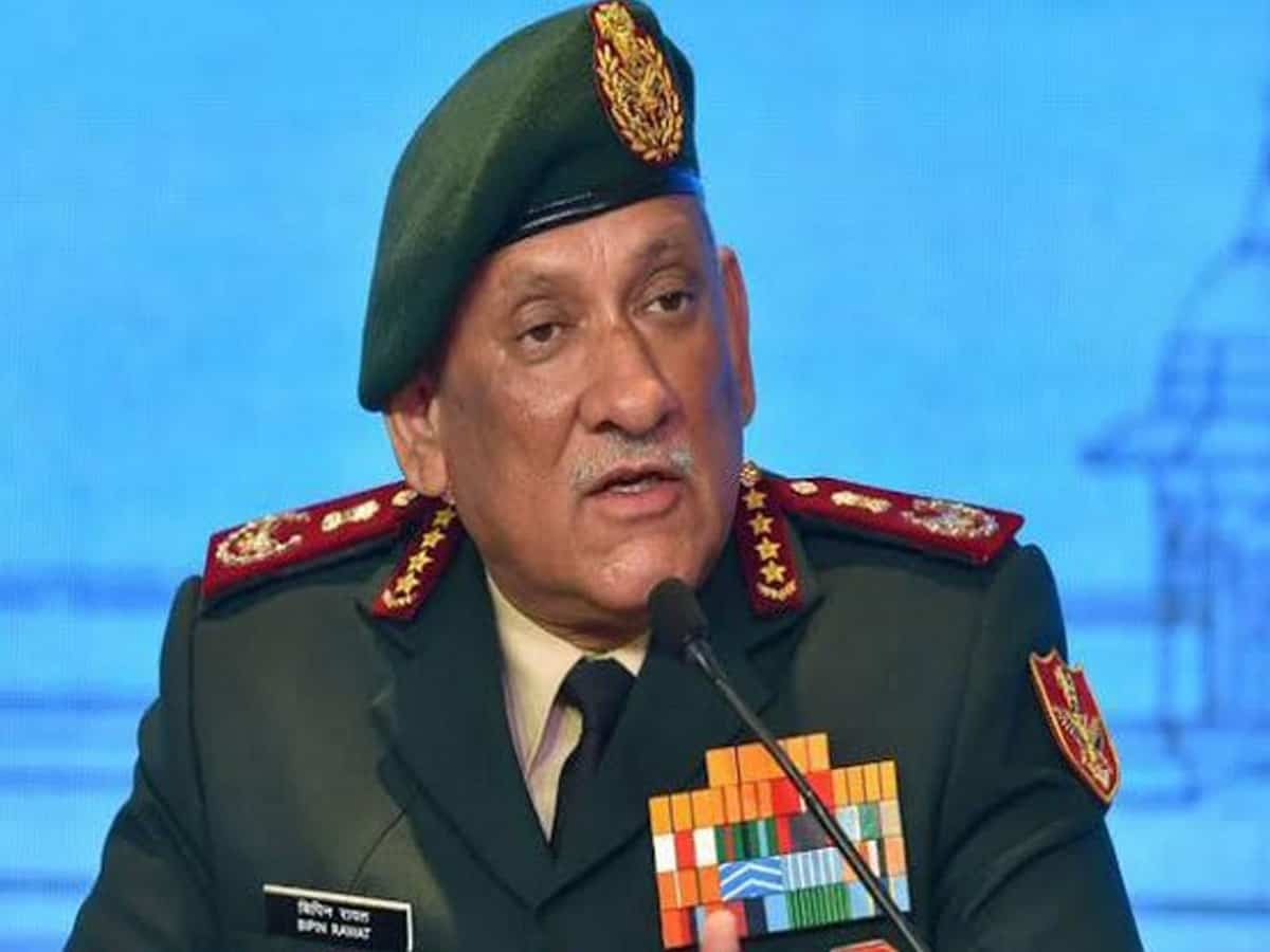 India has military options to deal with China if talks fail: CDS Bipin