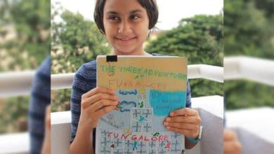 Photo of 9-year-old B'luru girl pens best-selling book during lockdown