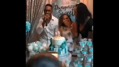 Bravo grooves to 'Champion' on daughter's birthday