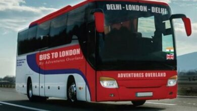Photo of Delhi to London: Ticket fare of the bus journey may surprise you