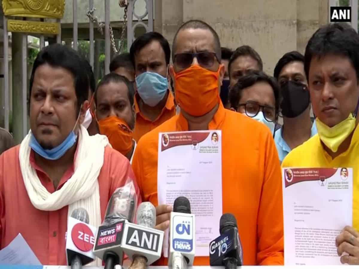 Visva Bharati vandalism incident: BJP MP meets Bengal governor, demands CBI probe