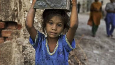 Photo of 48 child labourers rescued from two Punjab factories