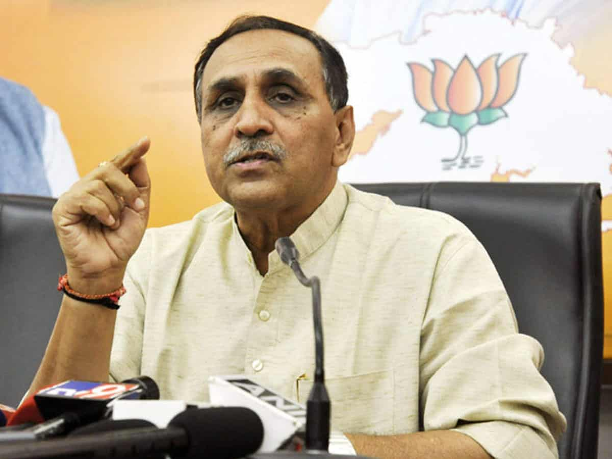 CM Rupani tightens PASA Act against cybercrime, gambling and violence against women