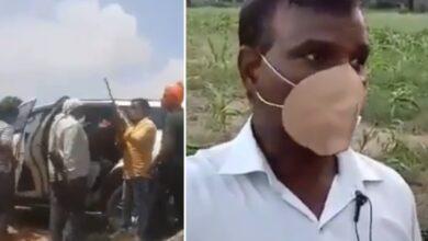 Photo of BJP goons threaten CRPF soldier Noor Kalim, video went viral