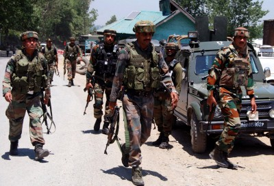 CRPF jawan injured in terrorist attack in Kashmir