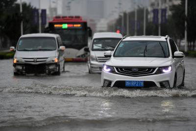 China renews red alert for typhoon Bavi