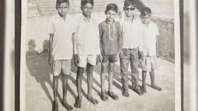 Photo of Throwback Thursday: Chiranjeevi asks fans to spot Pawan Kalyan in this flashback pic!