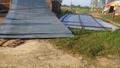 Photo of A Church Demolished In Uttar Pradesh
