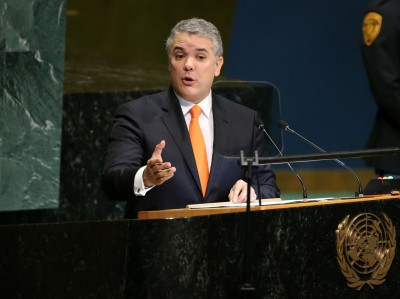 Colombian Prez condemns killing of 8 people