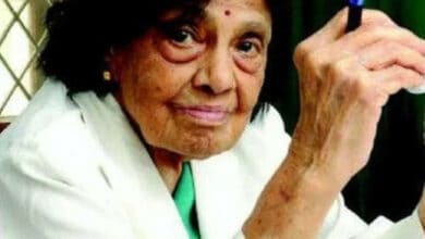 Photo of India's 1st female cardiologist dies of Covid-19 at 103