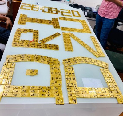 DRI busts gold smuggling racket, seizes 84 kg gold bars worth Rs 43 cr