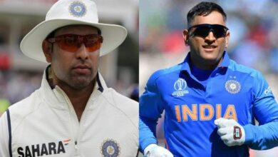 Photo of Laxman pays rich tribute to Dhoni