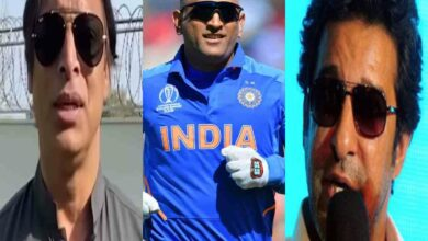 Photo of Wasim Akram, Shoaib Akhtar express views after Dhoni retires