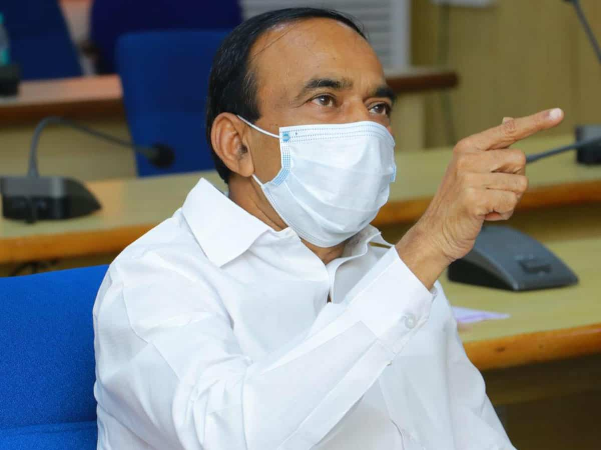 Centre showing partiality in allocating Remedesivir, oxygen: Eatala