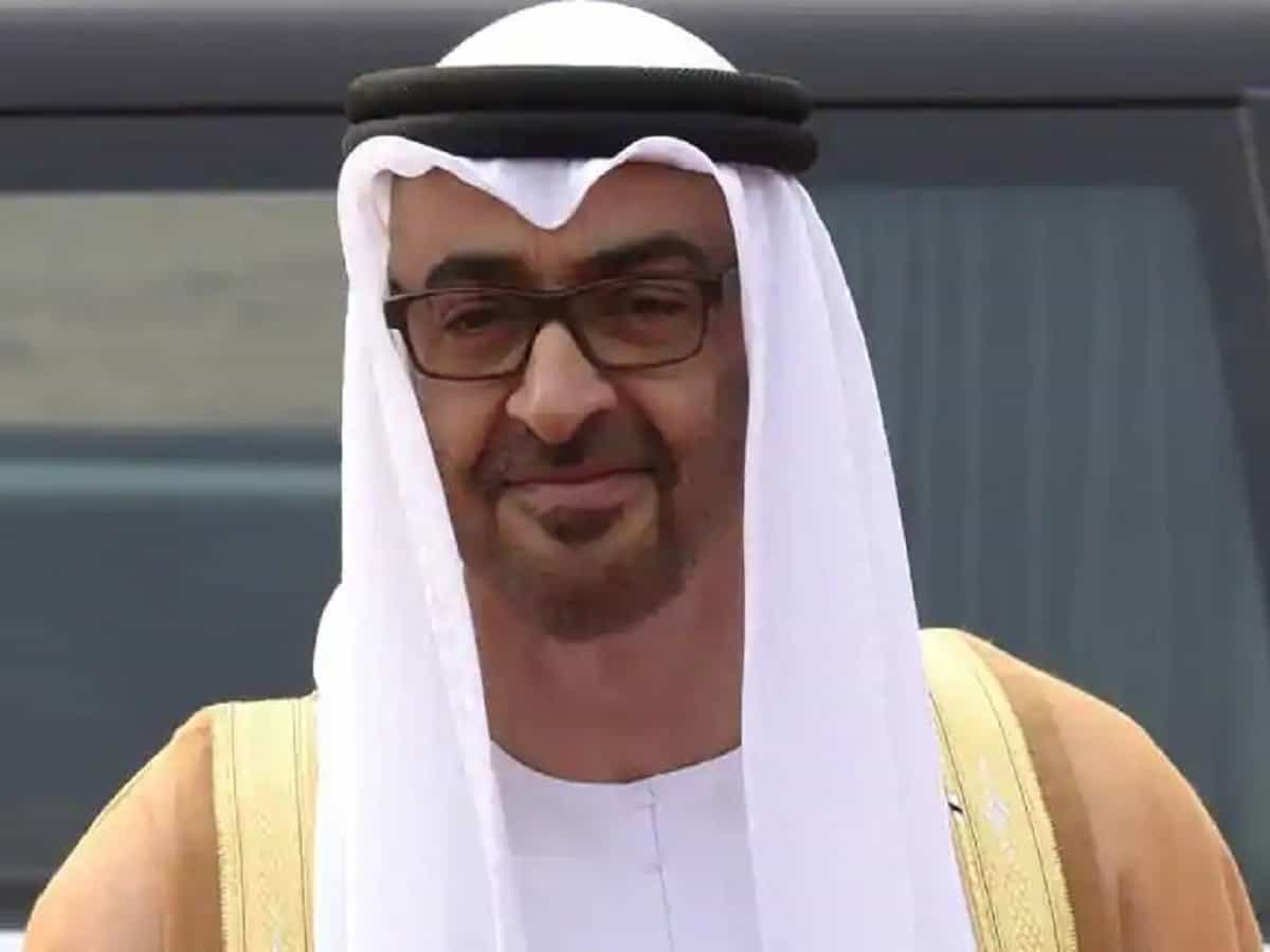 Crown Prince of UAE Mohammed Bin Zayed