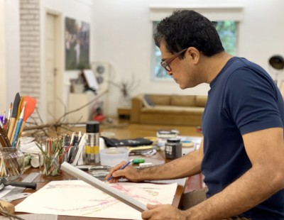 For a large country like India, we hardly have any artistic infrastructure: Jitish Kallat