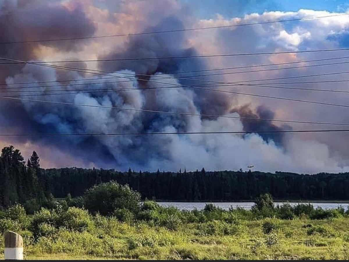 Nearly 4,000 people evacuated in Canada due to forest fire