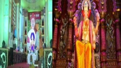 Photo of Lalbaug Mandal celebrates Ganesh Chaturthi on smaller scale this year