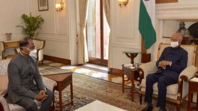 Photo of Girish Chandra Murmu meets President Kovind at Rashtrapati Bhavan