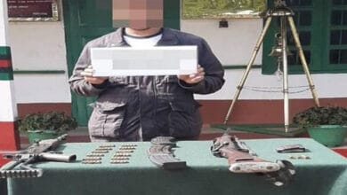 Photo of Army Eastern Command arrests arms dealer in Nagaland's Zunheboto