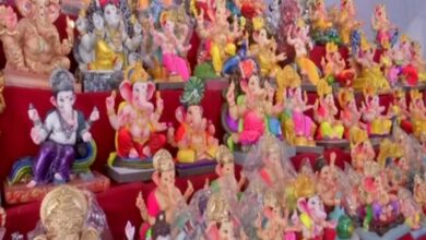 Photo of Hyderabad: Ganesh idol sales fall by half due to COVID-19