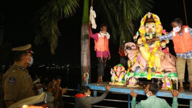 Photo of Ganesh immersion: Hyderabad Police issues traffic advisory